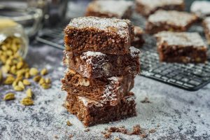 Easy Indian Cooking Review and Cardamom Brownies
