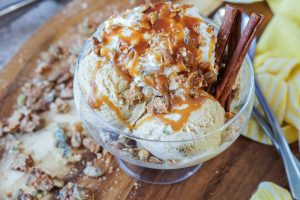 The Grand Central Market Cookbook Review and Cinnamon Ice Cream with Candied Pepitas