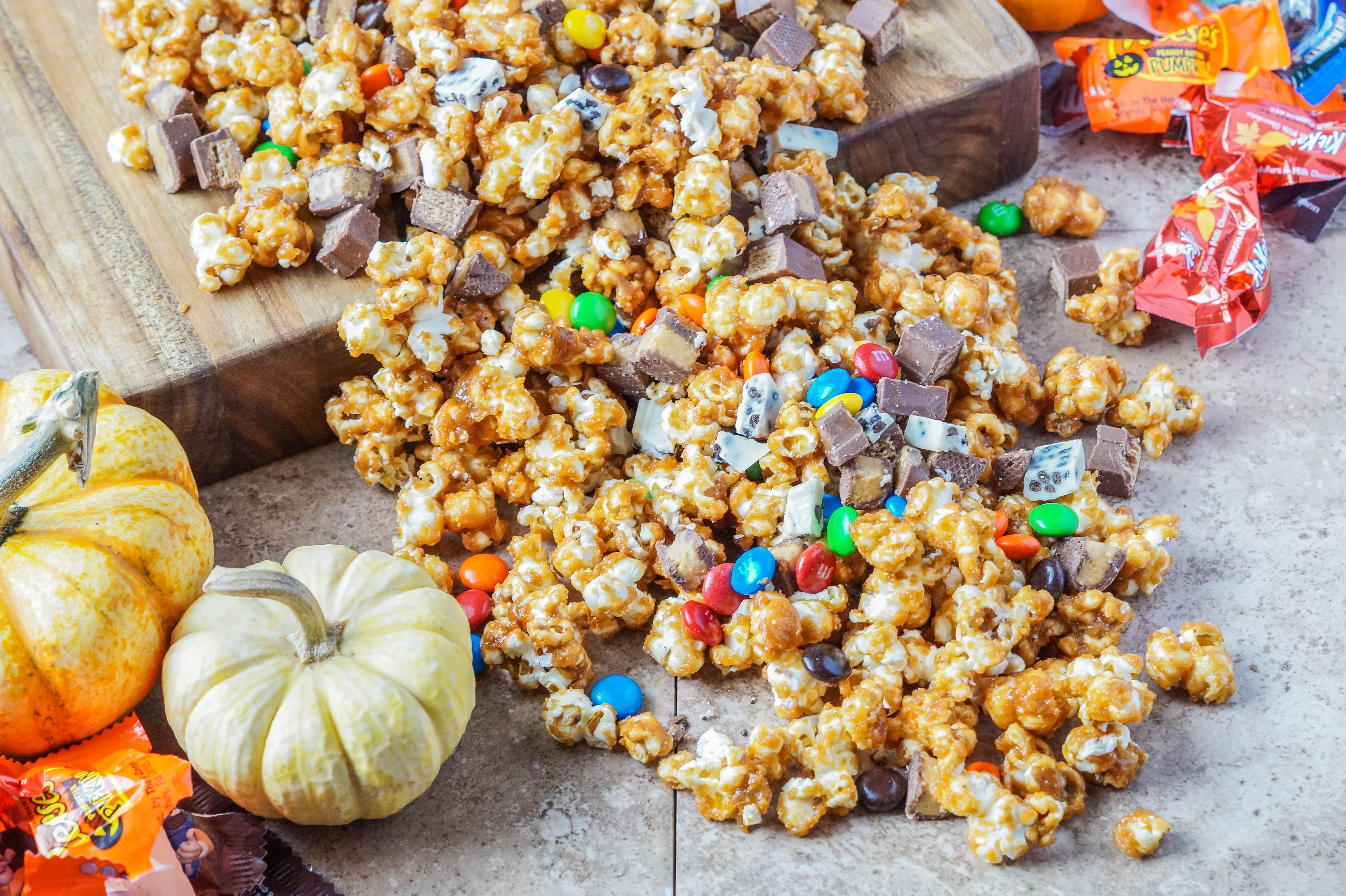 halloween candy popcorn - tara's multicultural table