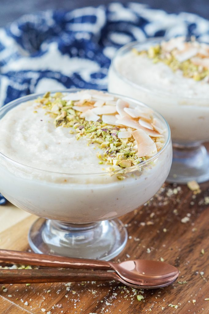 Keskul-e-Fugara (Turkish Milk and Almond Pudding)