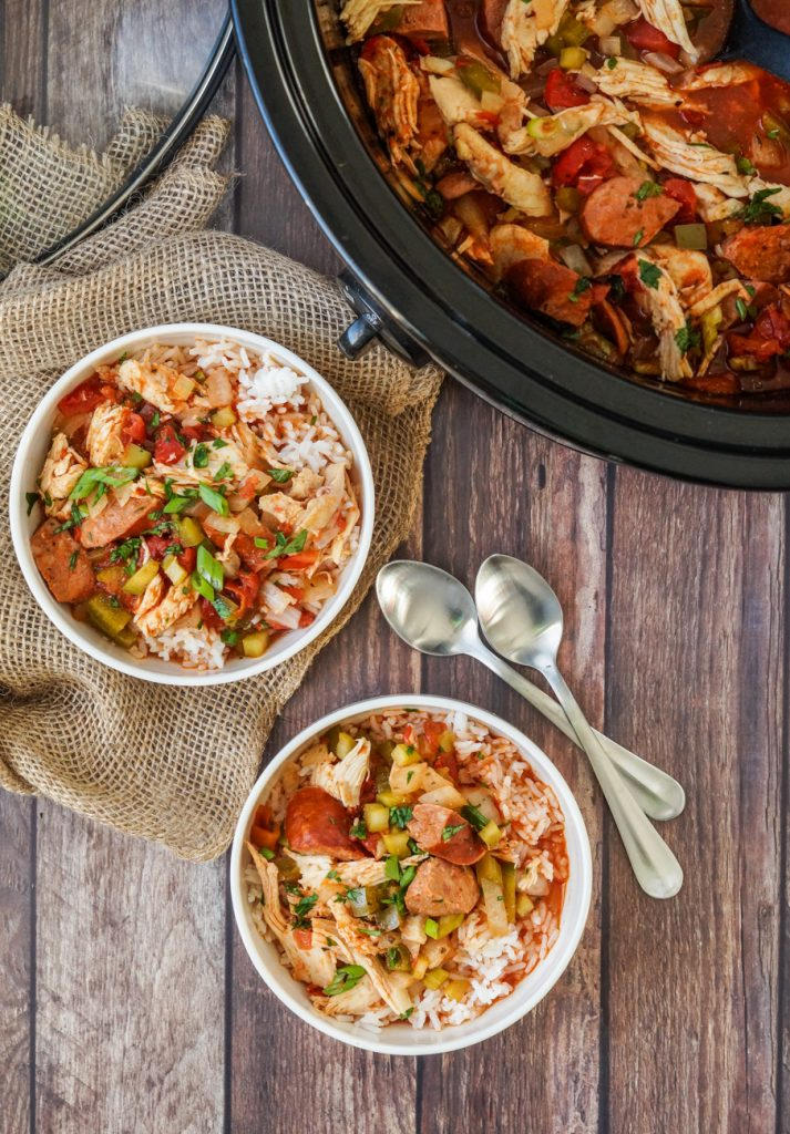 Slow Cooker Creole Chicken and Sausage - Tara's ...