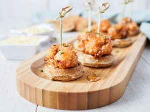 Mini Fried Chicken and Waffles #SundaySupper