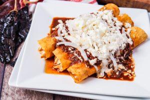 Enchiladas Rojas #FoodieExtravaganza