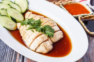The Malaysian Kitchen Cookbook Review and Hainanese Chicken Rice