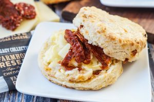 Cheddar Sun-Dried Tomato Biscuits