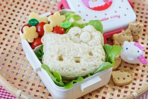Hello Kitty Bento and Shokupan (Japanese Sandwich Bread)