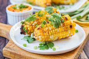 Myers+Chang at Home Cookbook Review and Grilled Corn with Sriracha Butter