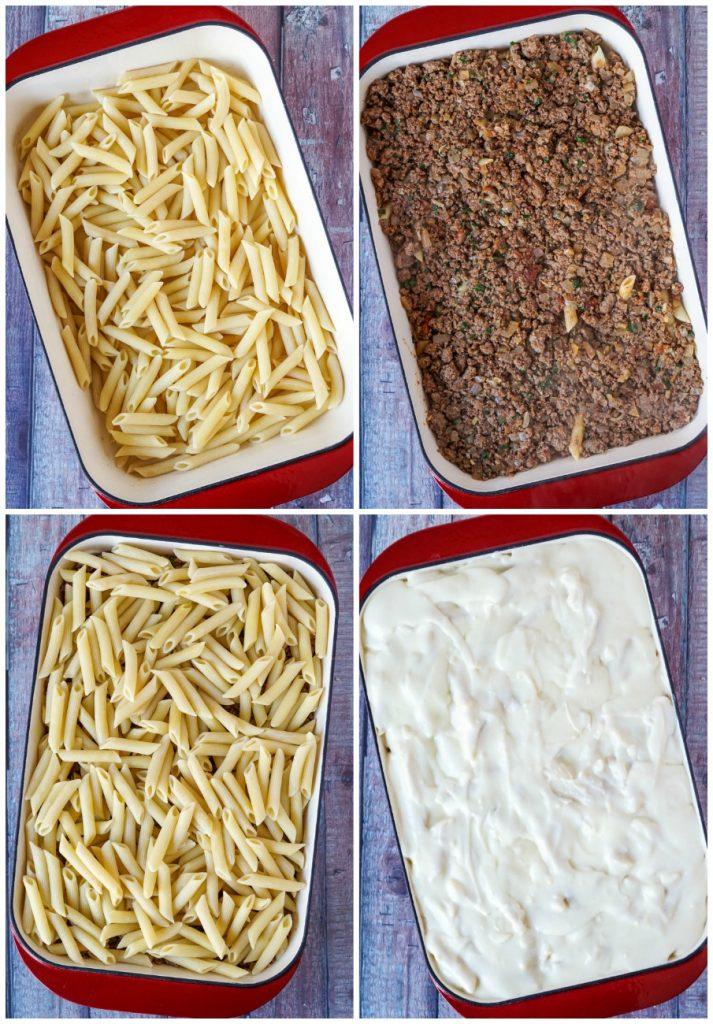 Macarona Bechamel (Egyptian Baked Pasta)