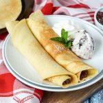 Pandekager (Danish Pancakes)