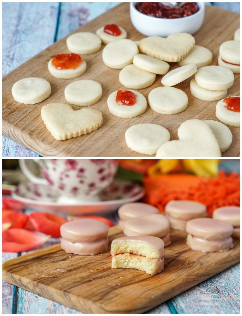 Filling of Napolitaines (Mauritian Sandwich Cookies)